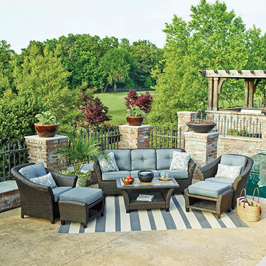 members mark agio collection fremont seating set - sam's club, Garten und erstellen