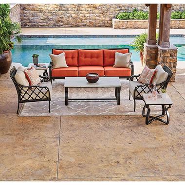 Good Memberu0027s Mark Portico Sunbrella Seating Set