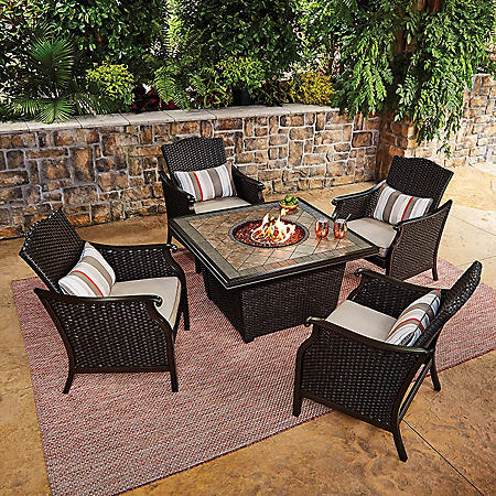 Member's Mark Agio Collection Heritage Fire Chat Set
