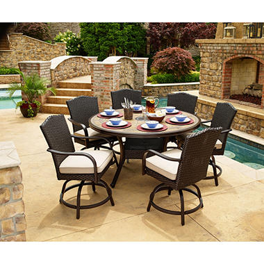 Members Mark Agio Collection Heritage Balcony Dining Set Sams Exclusive