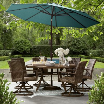 Members Mark Agio Collection Fremont Dining Set Sams Club