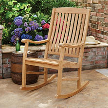 Member's Mark Teak Porch Rocker