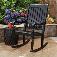 Member's Mark Painted Porch Rocker in Black