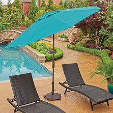 Member's Mark Premium 10' Market Umbrellas, Various Colors