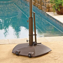 Member's Mark Umbrella Base with Telescoping Handle
