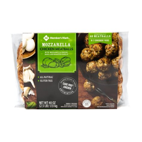 Member's Mark Chicken Mozzarella Meatballs (2.5 lb.)