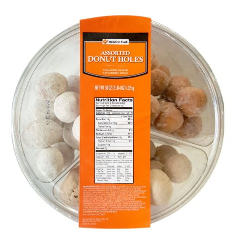 Member's Mark Assorted Donut Holes (36 oz.)