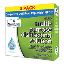 Members Mark Multi-Purpose Disinfecting Solution  (16 oz. bottle, 3 ct.)