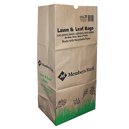 Member's Mark 30-Gallon Lawn & Leaf Bags