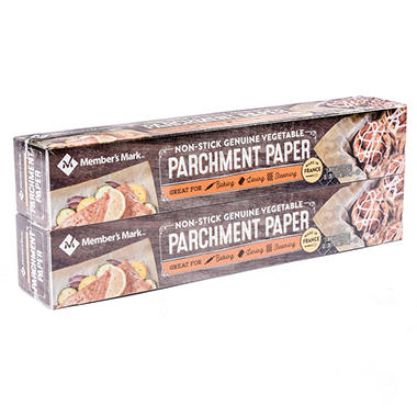 Member's Mark Parchment Paper (205 ft. roll, 2 ct.)