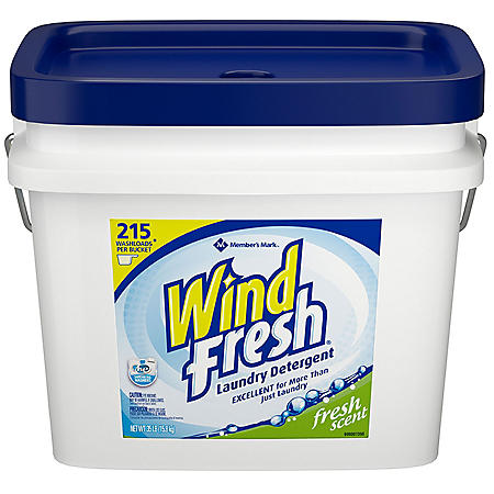 WindFresh Powder Laundry Detergent (35 lbs., 215 loads)