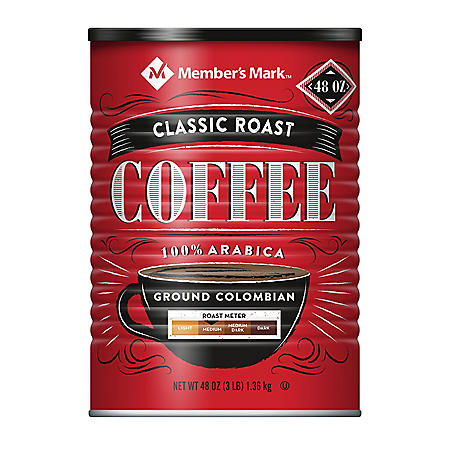Member's Mark Classic Roast Ground Coffee (48 oz.)