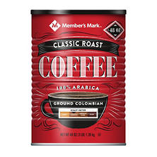 Member's Mark Ground Colombian Coffee (48 oz.)