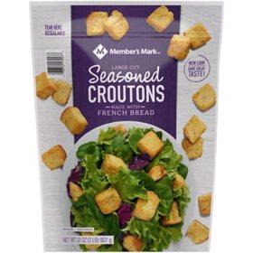 Member's Mark Seasoned Croutons (32 oz.)