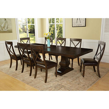 Captivating Owen 9 Piece Dining Set By Memberu0027s Mark