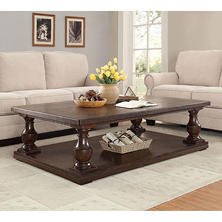 Member's Mark Weldon Pedestal Coffee Table