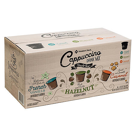 Member's Mark Cappuccino Variety Pack Single Serve Pods (54 ct.)