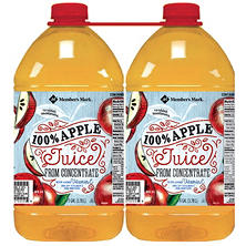 Member's Mark 100% Apple Juice (1 gal. ea., 2 pk.)