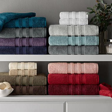 Hotel Premier Collection 100 Cotton Luxury Bath Towel By Member S Mark Orted Colors Sam Club