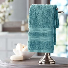 Hotel Premier Collection 100% Cotton Luxury Hand Towel by Member's Mark (Assorted Colors)