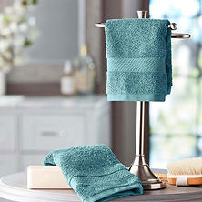 Hotel Premier Collection 100% Cotton Luxury Washcloth by Member's Mark (2 pk., Assorted Colors)