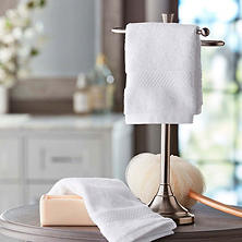 Hotel Premier Collection 100% Cotton Luxury Washcloth, 2-pack (Assorted Colors)