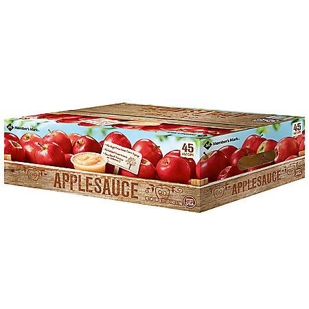 Member's Mark Applesauce (4 oz., 45 ct.)