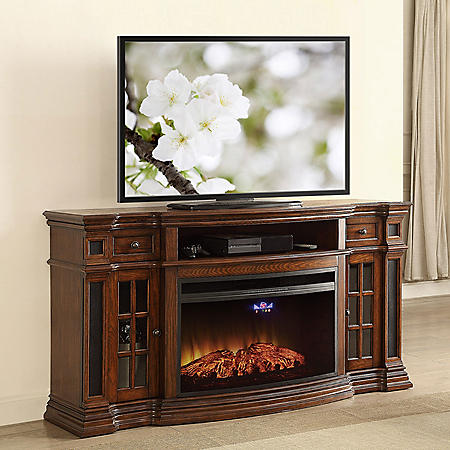 Strange Members Mark Richmond Smart Electric Fireplace And Media Entertainment Mantel With Built In Speakers Download Free Architecture Designs Scobabritishbridgeorg