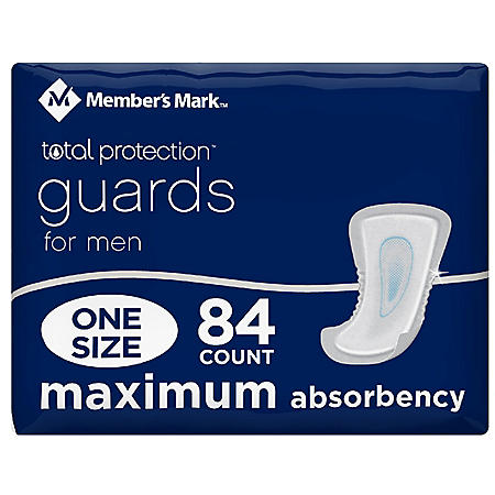 Member's Mark Total Protection Guards for Men (84 ct.)
