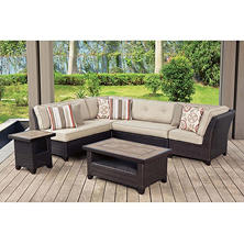 Member's Mark Agio Collection Heritage Sectional Seating Set