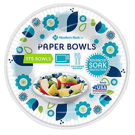 Member's Mark Paper Bowls (12 oz., 175 ct.)