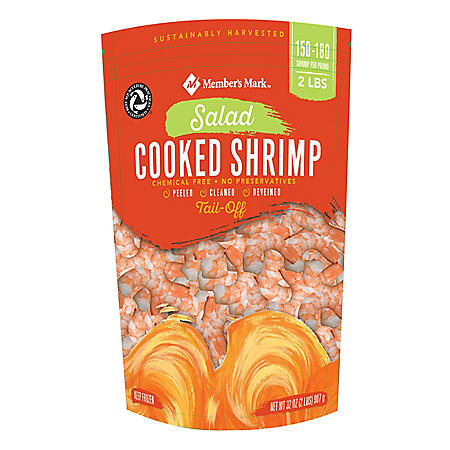 Members Mark Cooked Salad Shrimp (2 lbs.)