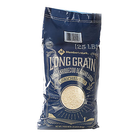Member's Mark Long Grain White Rice (25 lb.)