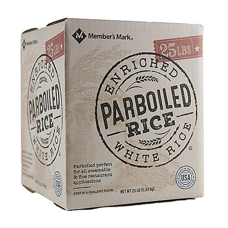 Member's Mark Parboiled White Rice (25 lb.)