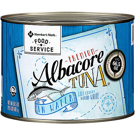 Member's Mark Solid White Albacore Tuna In Water (66.5 oz.)