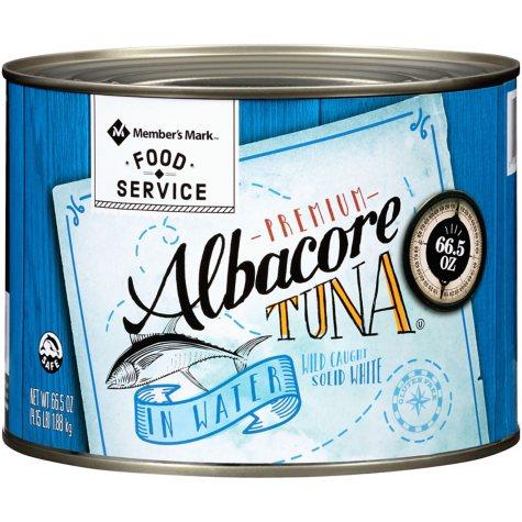 Member's Mark Solid White Albacore Tuna In Water (66.5 oz.)