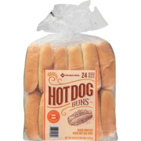 Member's Mark Hot Dog Buns (24 ct., 40 oz.)
