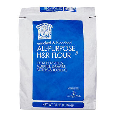 Bakers & Chefs All Purpose Flour (25 lb.)