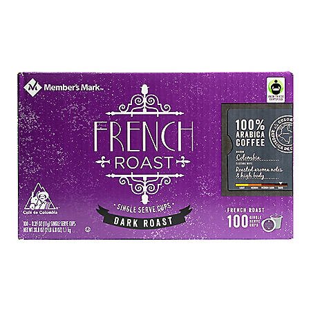 Member's Mark French Roast Coffee, Single-Serve Cups (100 ct.)