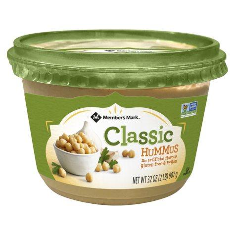 Member's Mark Classic Hummus (16 oz. container, 2 pk.)