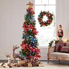 sams exclusive members mark 7 color changing dawson pine christmas tree - 7 Ft Christmas Tree