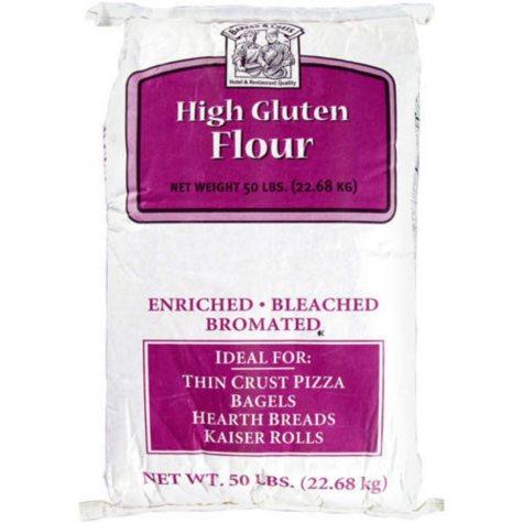 Bakers & Chefs High Gluten Flour - 50 lb. bag
