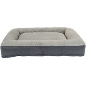 "Member's Mark Bolster Pet Bed, 35"" x 44"" (Choose Your Color)"