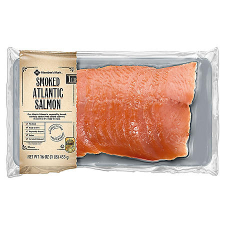 Member's Mark Cold Smoked Atlantic Salmon (1 lb.)