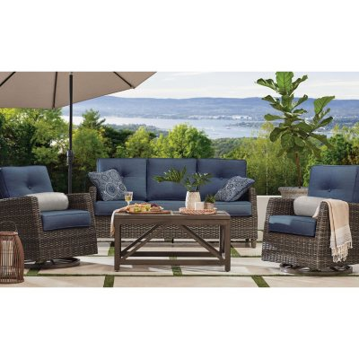 outdoor furniture sets for the patio for sale near me sam 39 s club. Black Bedroom Furniture Sets. Home Design Ideas