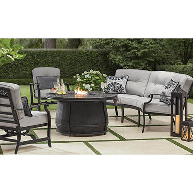 Member S Mark Agio Hastings 4 Piece Curved Deep Seating