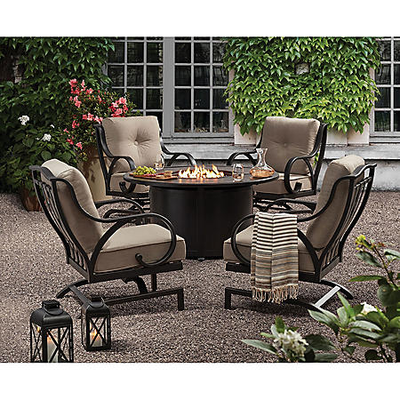Member's Mark Harbor Hill 5-Piece Fire Chat Set