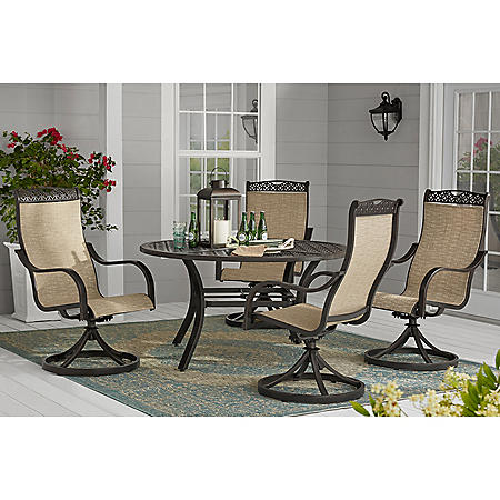 Member's Mark Harbor Hill 5-Piece Sling Dining Set