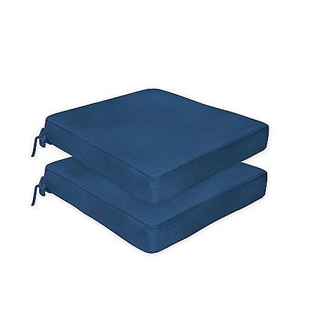 Member's Mark Sunbrella Multi-Purpose Cushion, 2-Pack (Various Colors)