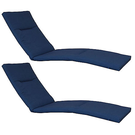 Member's Mark Sunbrella Chaise Lounge Cushion 2 Pack (Various Colors)
